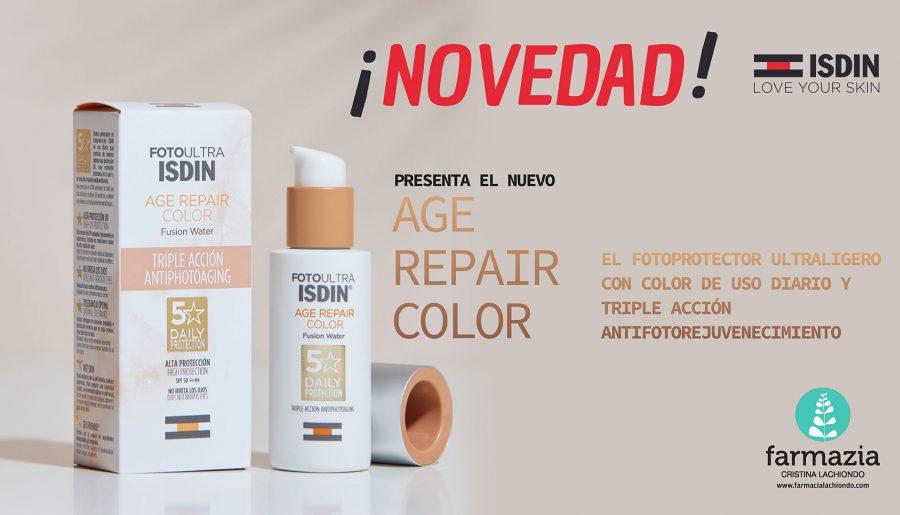 ¡NOVEDAD! ISDIN presenta el nuevo Age Repair Color